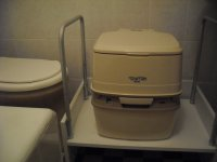 Porta Potti Rehability Duo 365 (Extra White)